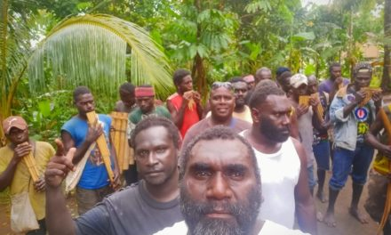 Former rebel leader elected president of Bougainville