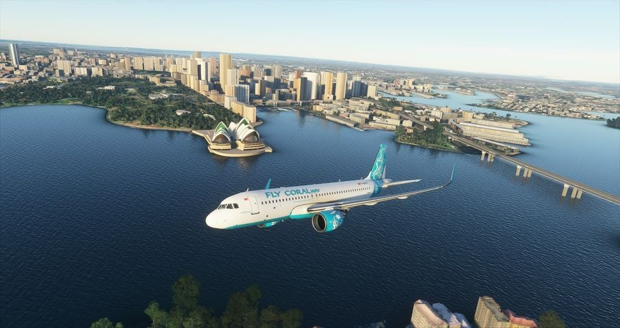 First (virtual) flight for Fly CoralWay