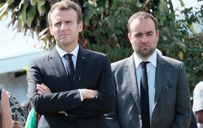 Emmanuel Macron's minister on mission in New Caledonia