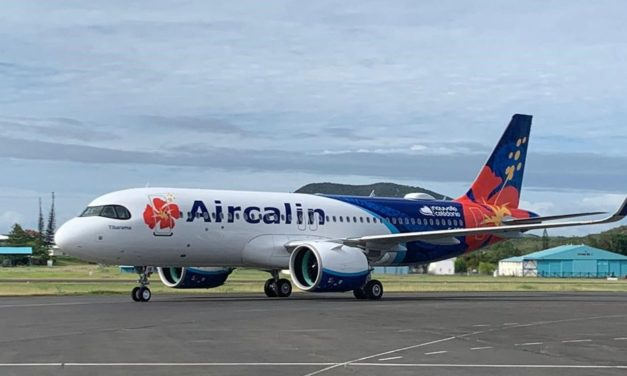 A brand new plane for Aircalin