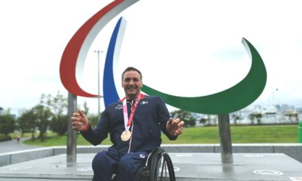 Paralympic Games: Pierre Fairbank takes the bronze in 800m for his last race