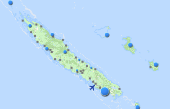 New Caledonia in a state of health emergency